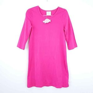 NEW LollyWolly Doodle Dress Pink Cotton Small